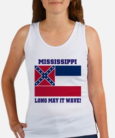Mississippi State Flag Tank Top