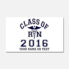 Class Of 2016 RN Car Magnet 20 x 12