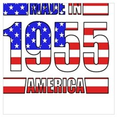1955 Made In America Poster