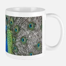 Beautiful Peacock Mugs