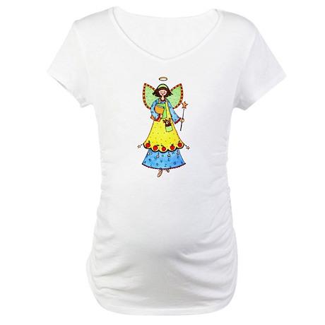 Education Angel Maternity T-Shirt