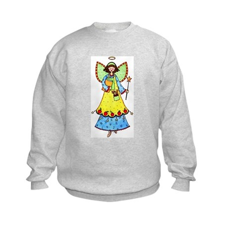 Education Angel Kids Sweatshirt
