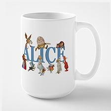 Alice in Wonderland and Friends Ceramic Mugs