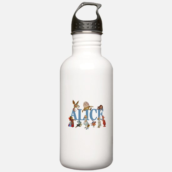 Alice in Wonderland an Water Bottle