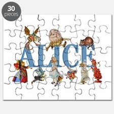 Alice in Wonderland and Friends Puzzle