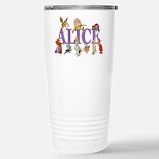 Alice in Wonderland and Travel Mug