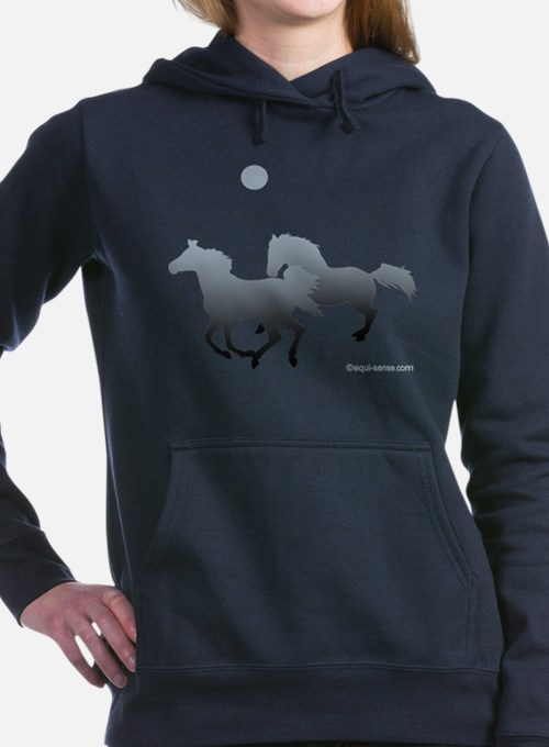 Cute Horses appaloosa Women's Hooded Sweatshirt