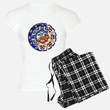 Harvest Moons Sun & Moon Yin Yang Pajamas