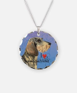 Wirehaired Dachshund Necklace