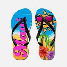 Maui Hawaii Beach Flip Flops