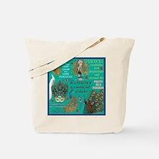 Peacocks Tote Bag