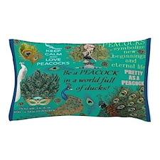 Peacocks Pillow Case
