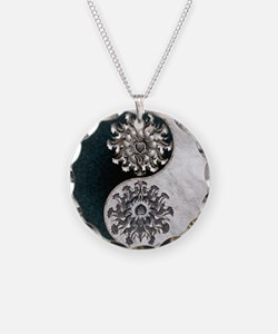 Harvest Moons Funky Yin Yang Necklace