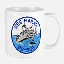 USS HAILEY Small Small Mug