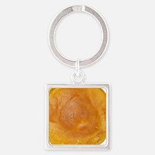 Photo of Large Pancake Square Keychain