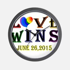 #lovewins Wall Clock