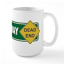 Romney Way Dead End Mug