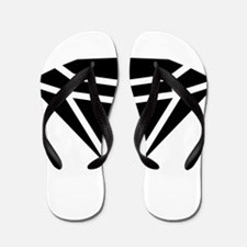 Diamond Flip Flops
