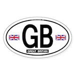 GB Oval Sticker (Proper)