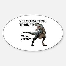 Velociraptor Trainer Decal