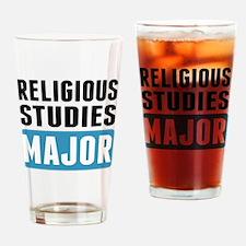 Religious Studies Major Drinking Glass