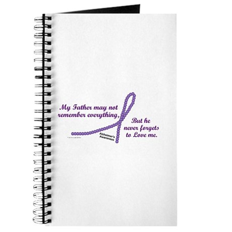 Never Forgets To Love (Father) Journal