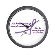 Never Forgets To Love (Father) Wall Clock