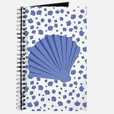 Sea Shells - Light Blue Journal