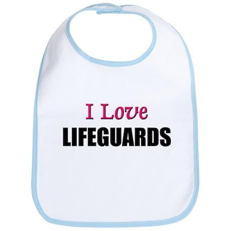 I Love LIFEGUARDS Bib