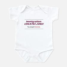 Immigration Infant Bodysuit
