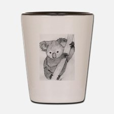 The Koala Shot Glass