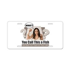 You Call This a Fish? Aluminum License Plate