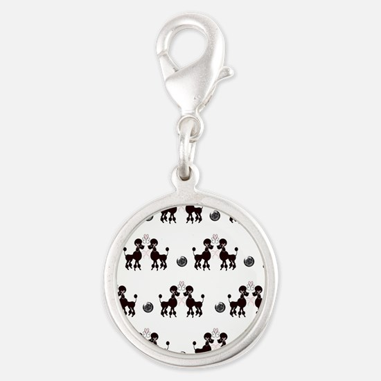 French Poodles Charms