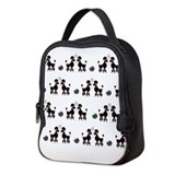Poodle Lunch Bags