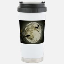 Halloween Scene Stainless Steel Travel Mug