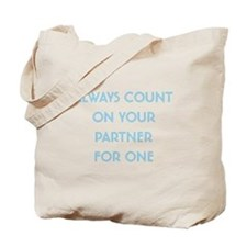 Euchre Partner Tote Bag