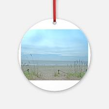 Seascape Dreams Ornament (Round)