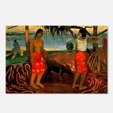 Gauguin - Beneath the Pan Postcards (Package of 8)