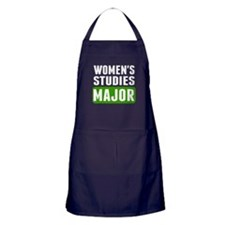 Womens Studies Major Apron (dark)