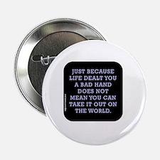 """Cute Lifes journey 2.25"""" Button"""