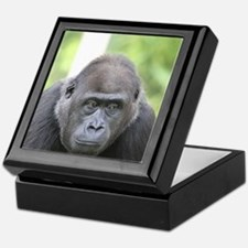 friendly gorilla Keepsake Box