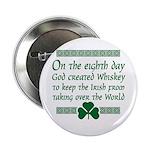 irish whiskey Button