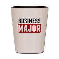 Business Major Shot Glass