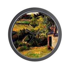 Gauguin - Rouen Suburb Wall Clock