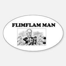 Flimflam Man - Bernie Madoff! Decal