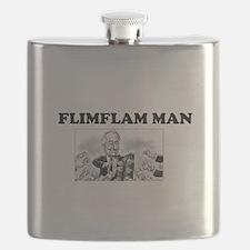 Flimflam Man - Bernie Madoff! Flask