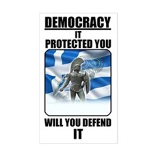 Defend Democracy Decal