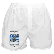 Defend Democracy Boxer Shorts