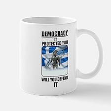 Defend Democracy Mugs