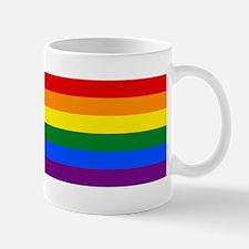 Gay Flag Mugs